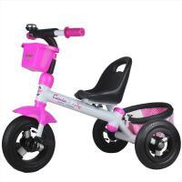 灿成童车 脚踏车 小孩玩具车三轮车 宝宝三轮车带挂篮儿童健身车