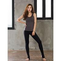 瑜伽服背心女套装夏季跑步运动健身服修身性感健身房运动服