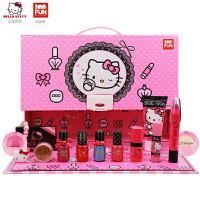 HelloKitty儿童化妆品彩妆盒套装小女孩演出时尚美妆礼盒生日礼物 KT-8586彩妆盒