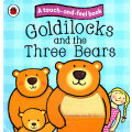 Touch and feel Fairy Tales: Goldilocks and the Three Bears 触摸故事书:金发姑娘与三只熊 ISBN 9781409304470