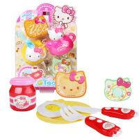 凯蒂猫儿童过家家厨房餐具 女孩宝宝做饭仿真玩具套装hellokitty 茶点组合