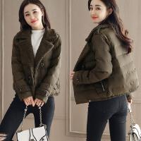 棉衣女短款韩版新款冬季大码修身小棉袄加厚保暖外套