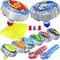 龙神梦幻战斗盘套装玩具魔幻陀螺光焰天火龙王深海冰