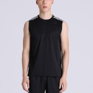 adidas阿迪达斯男子背心夏季训练健身跑步运动服BK3549