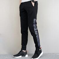 Adidas阿迪达斯 男子 运动长裤 加绒针织长裤CV9138