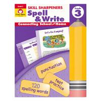 Evan Moor Skill Sharpeners Spell & Write Grade 3 拼写科目三年级练习册