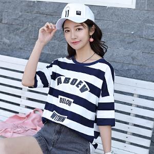 AGECENTRE 2018春夏装新款短袖女t恤韩版2018夏装上衣白色体恤学生装女
