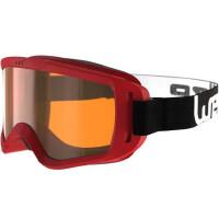 户外儿童滑雪护目镜 防雾防晒柱面单层透镜滑雪镜