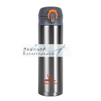 牧高笛户外装备不锈钢保温杯便携式徒步登山银色水杯随行直饮杯