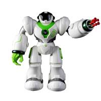 新新家族 新威尔机械战警智能玩具遥控机器人 儿童多功能电动玩具 白色
