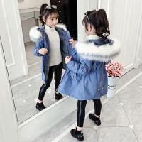 派克服女童秋冬�b外套洋��和��b羽�q棉衣