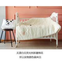 婴儿床被芯床褥婴幼儿棉被宝宝新疆棉花被小被子儿童小床透气被褥 1.6*2.1米 5斤加厚(冬季)