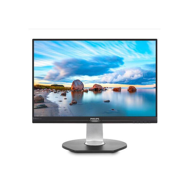 飞利浦(PHILIPS) 242B7QPTEB 23.8英寸 2K高清 99%sRGB旋转升降IPS屏显示器 242B7QPTEB VGA +HDMI