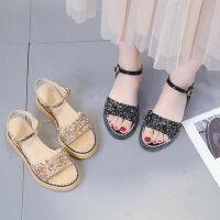 海边外穿沙滩凉鞋女 新款气质风罗马凉鞋女 学生松糕防滑百搭女鞋