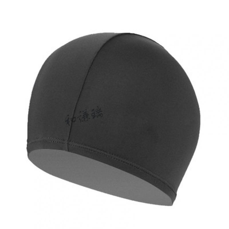 男女防滑纯色游泳帽 长发防水舒适高弹时尚简约泳帽 黑色 发货周期:一般在付款后2-90天左右发货,具体发货时间请以与客服协商的时间为准