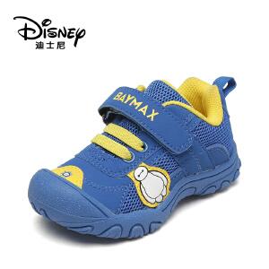 鞋柜/迪士尼春款儿童学步鞋魔术贴网状防撞童鞋1