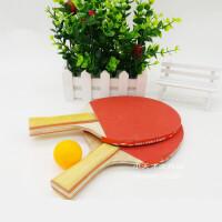 乒乓球拍 中小�W生�和�初�W�者用特�r球拍 �w育用品夜市