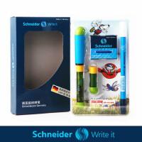 德国SCHNEIDER施耐德 学生成长钢笔彩虹 儿童练字书法钢笔套装