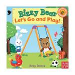 Bizzy Bear系列Let's Go and Play忙碌的小熊 我们一起去玩吧!英文儿童绘本