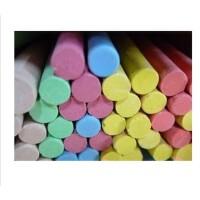 5折优惠 60只装 粉笔 不染手彩色粉笔/环保无尘/宝宝涂鸦必POP