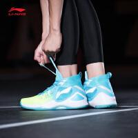 李宁篮球鞋男鞋战隼2018新款减震防滑支撑包裹透气男士春季运动鞋
