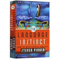 语言本能英文原版 Language Instinct 英文版 语言学心理学入门读物 正版进口英语书籍