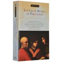 十部优秀哲学名著 英文原版 Ten Great Works of Philosophy 柏拉图 全英文版 正版进口英语