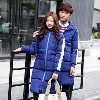 男士棉衣中长款冬季外套韩版潮流新款百搭袄子冬装情侣女