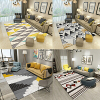 地毯客厅 北欧式茶几毯垫卧室满铺可爱房间床边长方形可机洗定制
