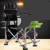 钓椅2018钓鱼椅可升降多功能钓鱼座椅铝合金台钓椅凳渔具用品 套餐五