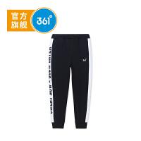 【线下同款】361度童装 男童针织长裤中大童秋季新品K51833554