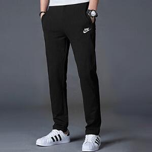 Nike耐克男装长裤针织透气修身休闲运动裤804400
