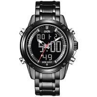 潮流多功能军表特种兵手表男士双显防水夜光户外运动手表电子手表SN7169 钢带-