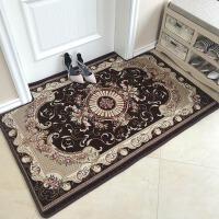 新地垫门垫定制现代简约入户家用脚垫进门门厅地毯防滑垫订制欧式 咖啡色 52款