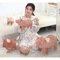 仿真小母猪猪毛绒玩具公仔创意猪肉抱枕儿童玩偶整人恶搞搞笑礼物