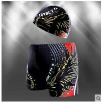 男士泳裤五件套装游泳镜泳帽男游泳装备时尚泳裤男休闲平角加大码性感温泉支持礼品卡支付