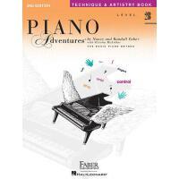 【现货】英文原版 菲伯尔钢琴乐谱 2B级技艺 Piano Adventures: Level 2B: Techniqu
