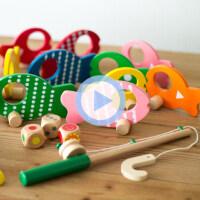 益智三合一钓钓看 过家家垂钓游戏 亲子桌面玩具