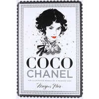 现货原版Coco Chanel: The Illustrated World of a Fashion Icon香奈儿