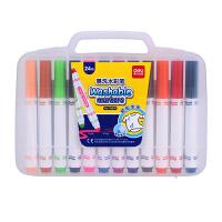 得力(deli) 70670 可水洗24色水彩笔绘画笔 粗杆 盒装 当当自营
