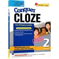 【首页抢券300-100】SAP Conquer Cloze Workbook 2 二年级英语完形填空专项练习册 在线读