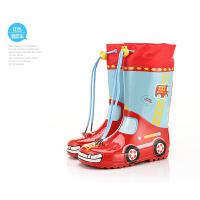 新款儿童雨鞋 雨靴 高筒收口水鞋环保 男童女童宝宝学生户外雨具