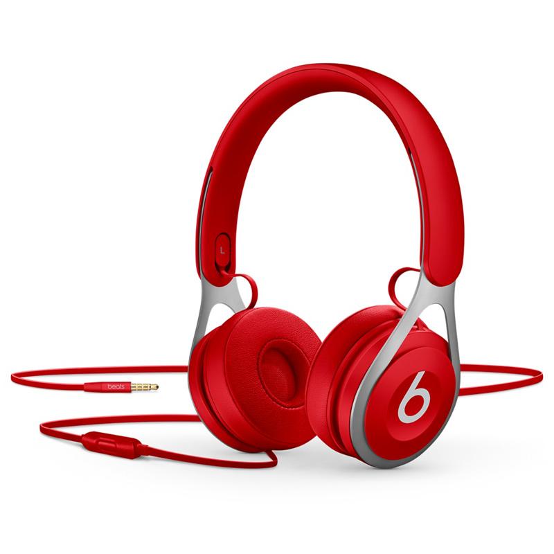[当当自营] Beats EP 头戴式耳机 含线控麦克风 红色 ML9C2PA/A可使用礼品卡支付 国行正品 全国联保