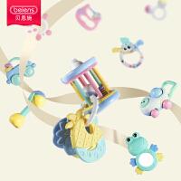 手摇铃玩具婴儿牙胶0-1岁宝宝幼儿3-6-12个月盒装