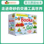名家斯凯瑞 走进奇妙的交通工具世界 Richard Scarry's Books on the Go(小盒装4册)【纸