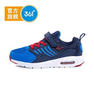 361度童鞋 男童鞋保暖跑鞋男童走路鞋儿童运动鞋K717418