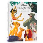 Disney Classics Storybook Treasury迪士尼5个经典故事合集 英文原版 迪士尼经典童话故