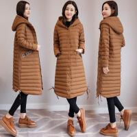 冬季女装新款韩版休闲加厚女中长款时尚潮流女装
