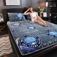 床垫加厚保暖1.8m床褥子法莱绒双人1.5米海绵垫子学生宿舍1.2垫被
