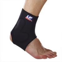 LP欧比护踝L型硅胶垫片加压护踝729 套筒式支撑护脚踝关节护具 单只